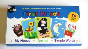 First Words Educational Puzzles For Toddlers