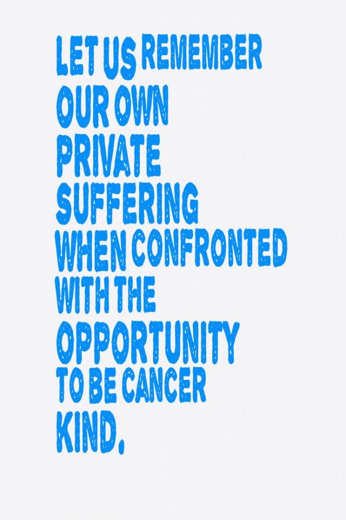 Cancer Kind