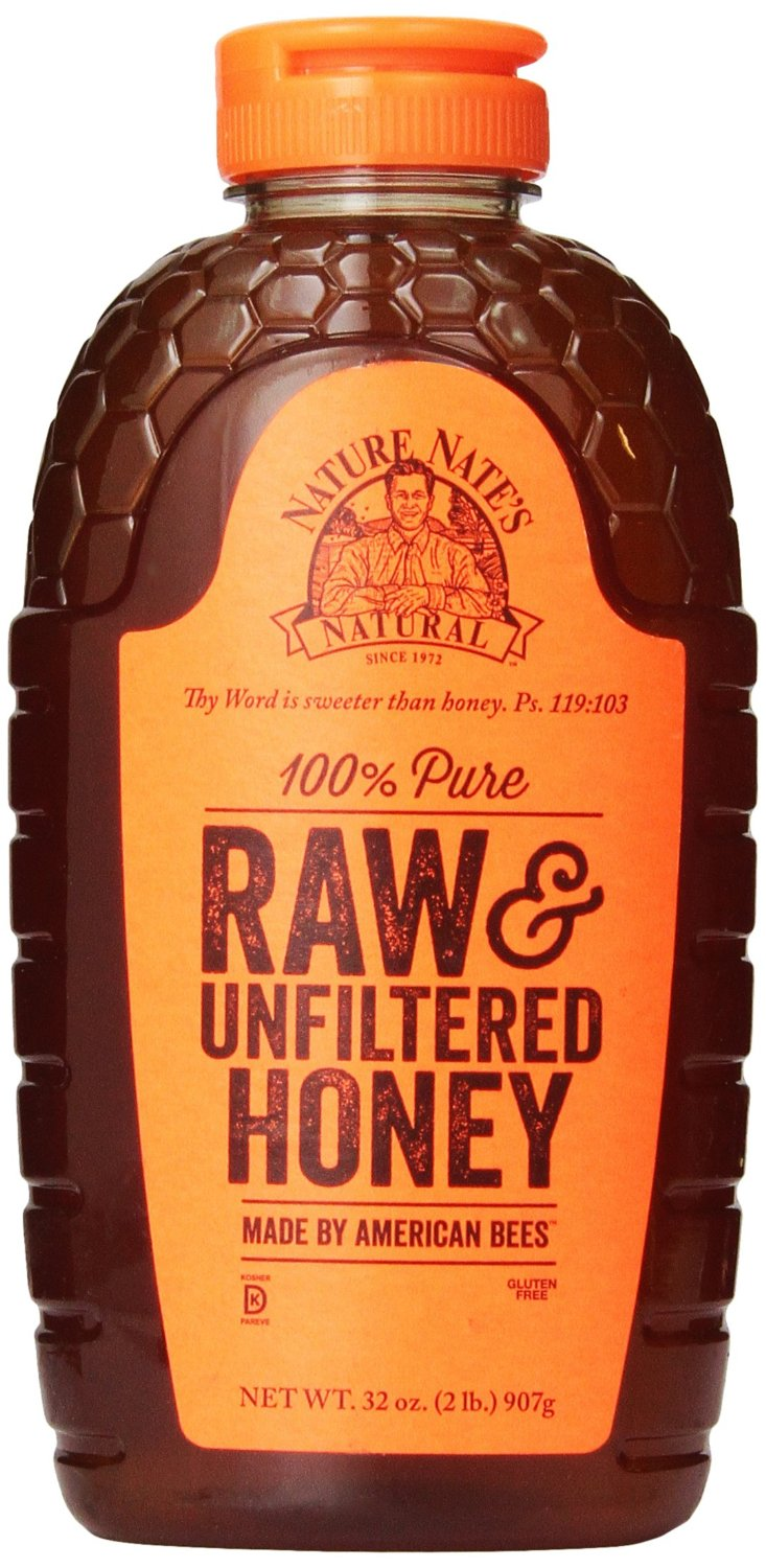 bottle of Raw Honey