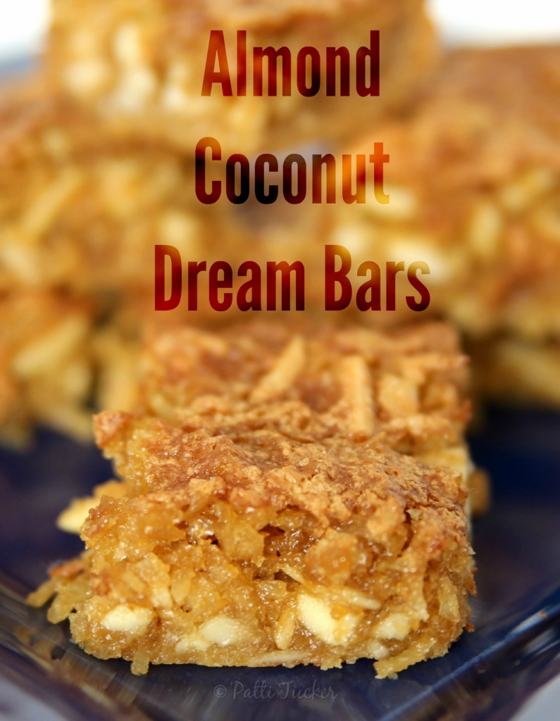 Almond Coconut Dream Bars