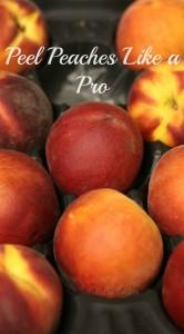 Peel Peaches Like a Pro