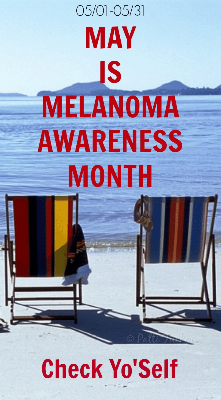 May is Melanoma Awareness Month #melanoma #cancerawareness #cancer #may #ohmrstucker