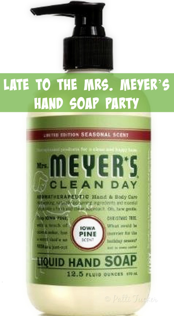 Late to the Mrs. Meyer's Hand Soap Party