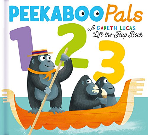 PeekaBoo Pals 1 2 3 Board Book