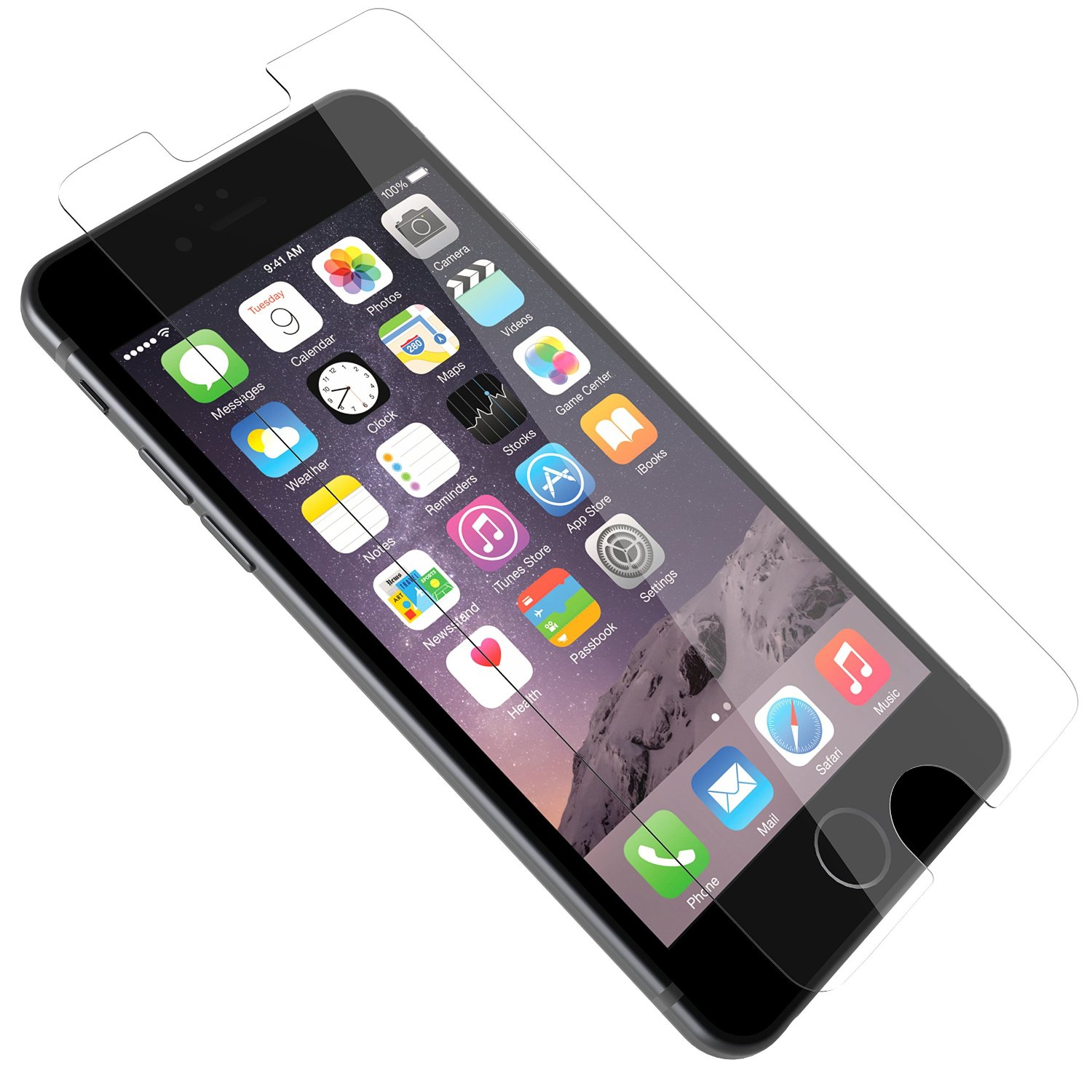 OtterBox ALPHA GLASS SERIES Screen Protector for iPhone 6/6s