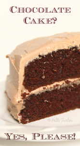 Super Moist Homemade Chocolate Cake