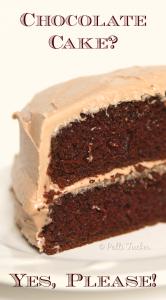 Super Moist Homemade Chocolate Cake