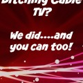 Ditching Cable TV (A Review)