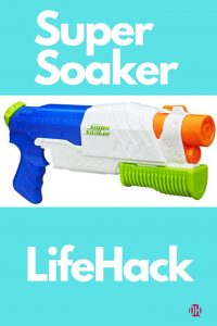 Super Soaker Lifehack: How To Kill Wasps Naturally