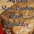 Beer-Infused Slow Cooker Pork Shoulder