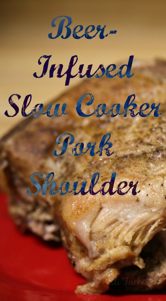 Beer-Infused Slow Cooker Pork Shoulder