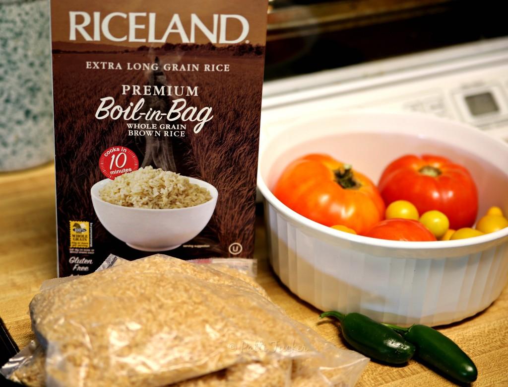 Slow Cooker Chicken Fajitas over Rice
