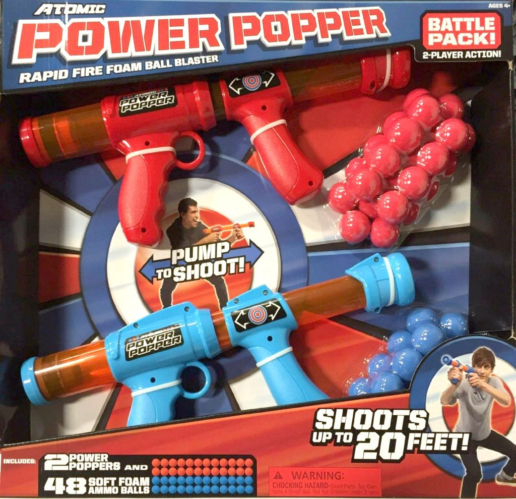 Looking for Indoor Fun? Atomic Soft Foam Power Poppers!