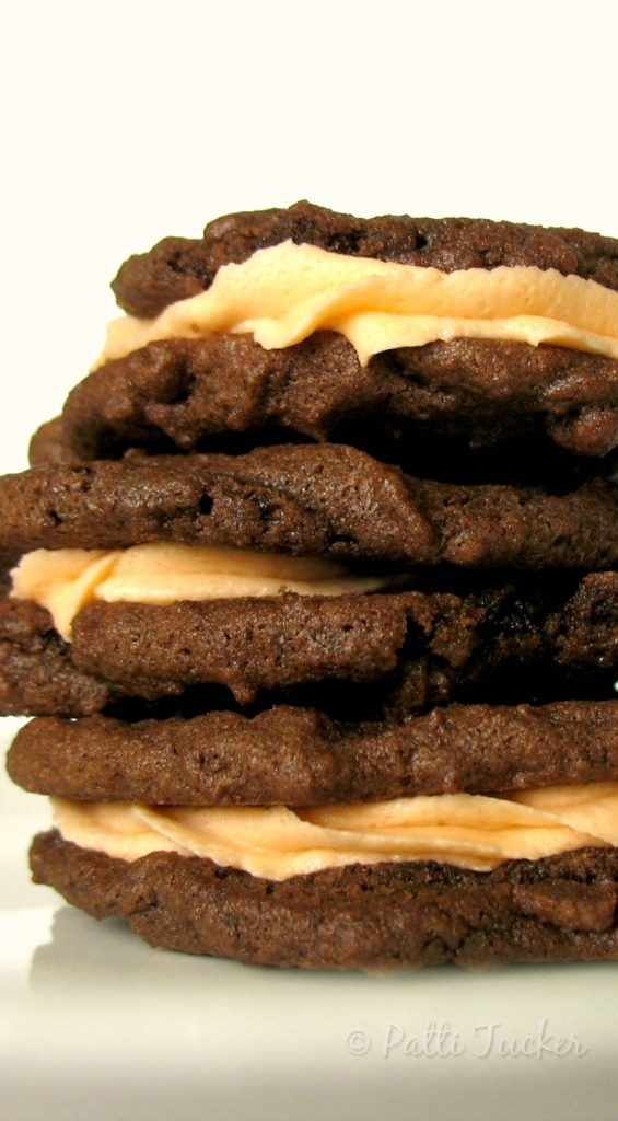 Filled Chocolate Cookies