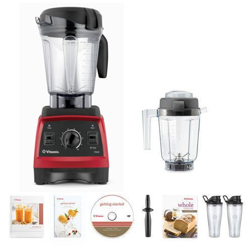 Hard Crushing on Powerful Vitamix Blenders