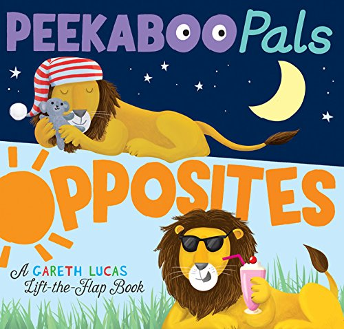 PeekaBoo Pals Opposites Board Book