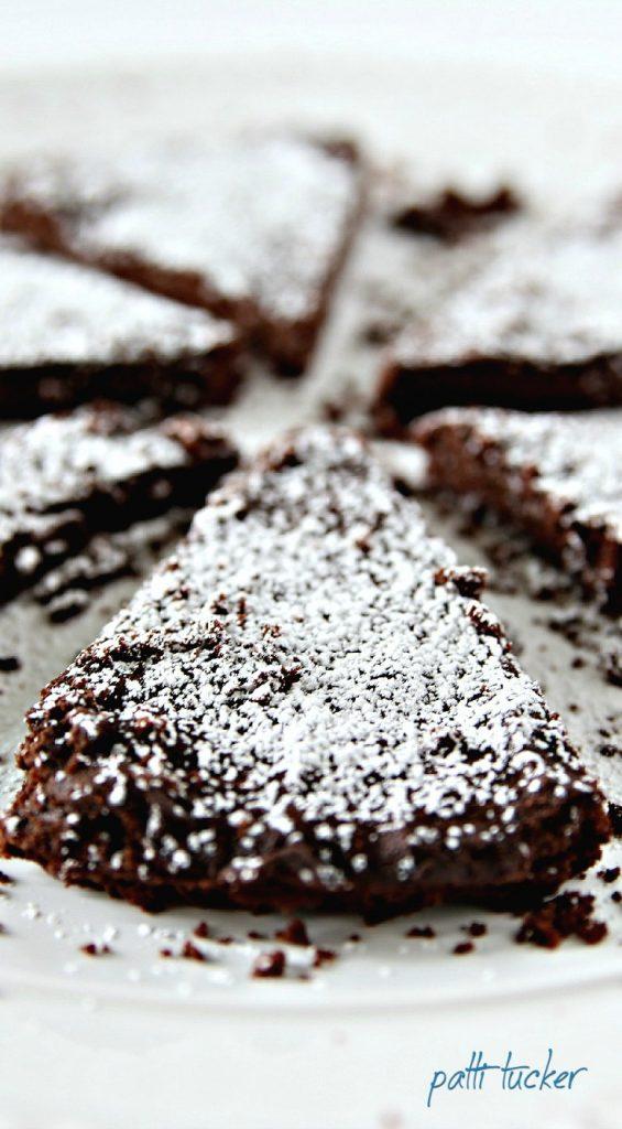Dark Chocolate Shortbread