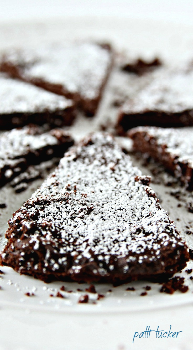 Dark Chocolate Shortbread