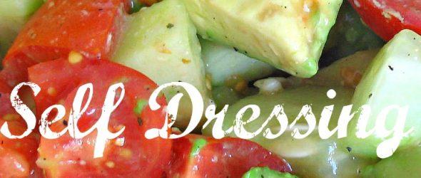 Self-Dressing Salad