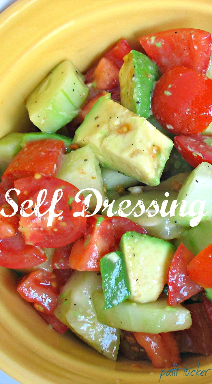 Self-Dressing Salad