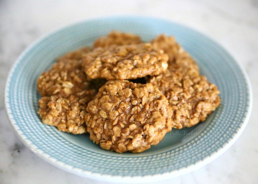 Coconut Palm Sugar Oatmeal Cookies