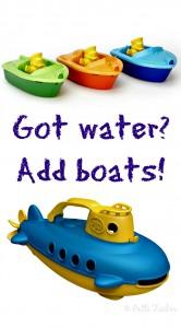 Got water? Add boats!