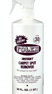 Have Tough Carpet Stains? Folex Cleaner to the Rescue!