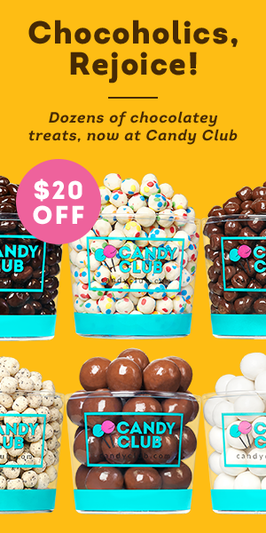 How to Win At Gift Giving: A Candy Club!