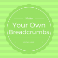 Make your own breadcrumbs text graphic