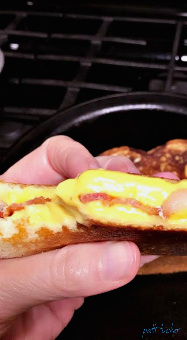 How To: Quick and Dirty Bacon-Stuffed Grilled Cheese