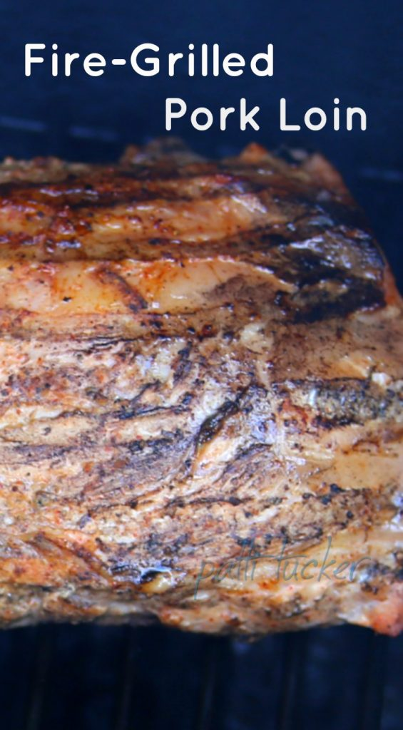How To: Fire Grill a Moist Pork Loin With Little Fuss