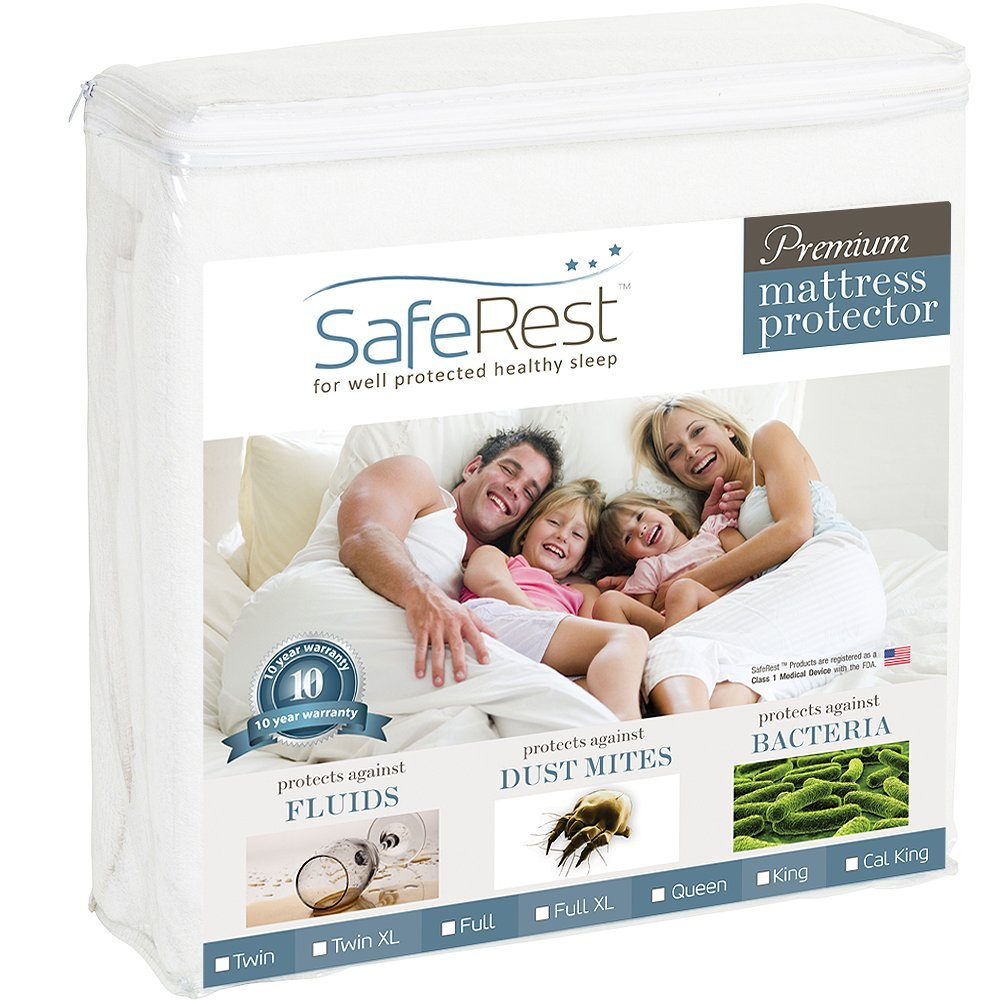 This Waterproof Mattress Cover Will Make You Happy