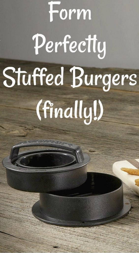 Ever Wonder How To Form a Perfectly Stuffed Burger?