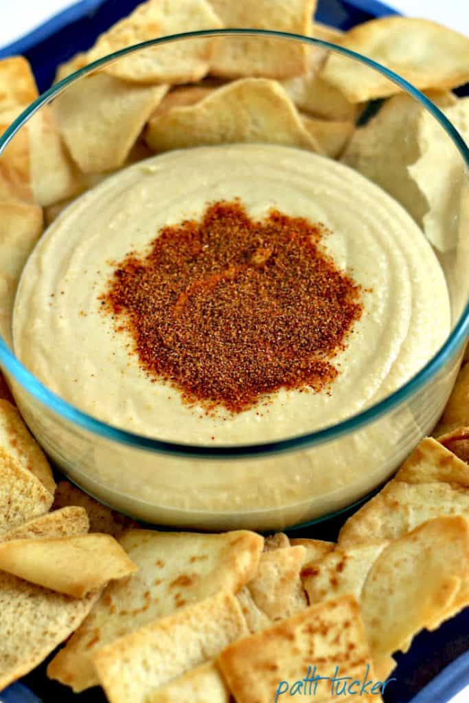 How to Get a Party Started - Homemade Hummus!