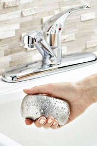 No More Rubbing Your Hands on the Kitchen Faucet!