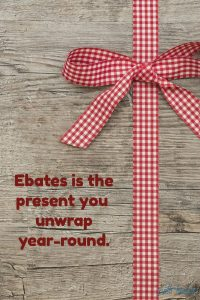 text graphic: ebates