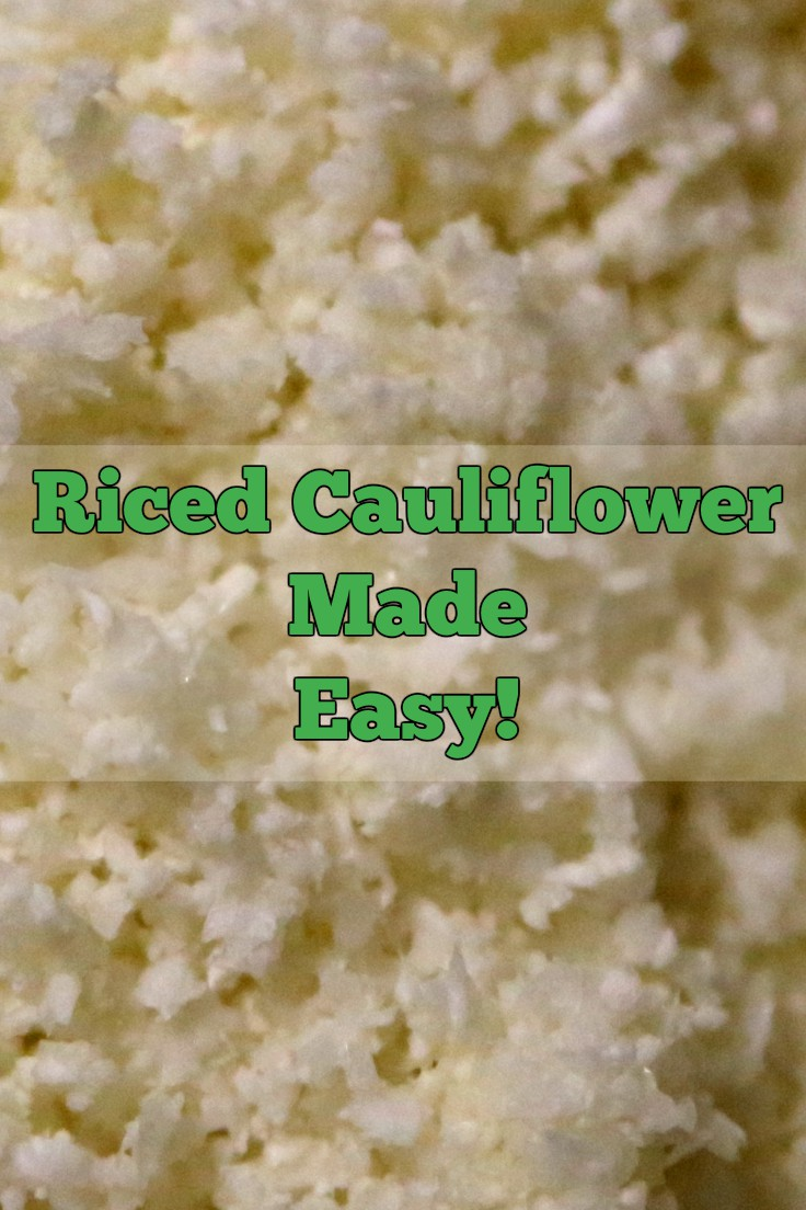 Do You Know How to Rice Cauliflower?