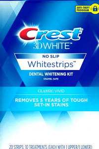 box crest whitestrips