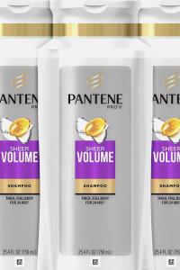 bottles pantene shampoo