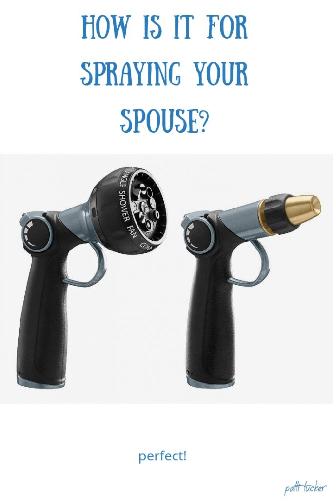 How is it For Spraying Your Spouse?
