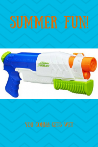 How to Enjoy Summer -Play with Super Soakers!