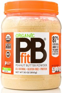 jar of PB Fit powder