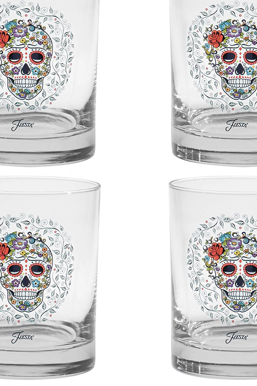 Day of the Dead glassware