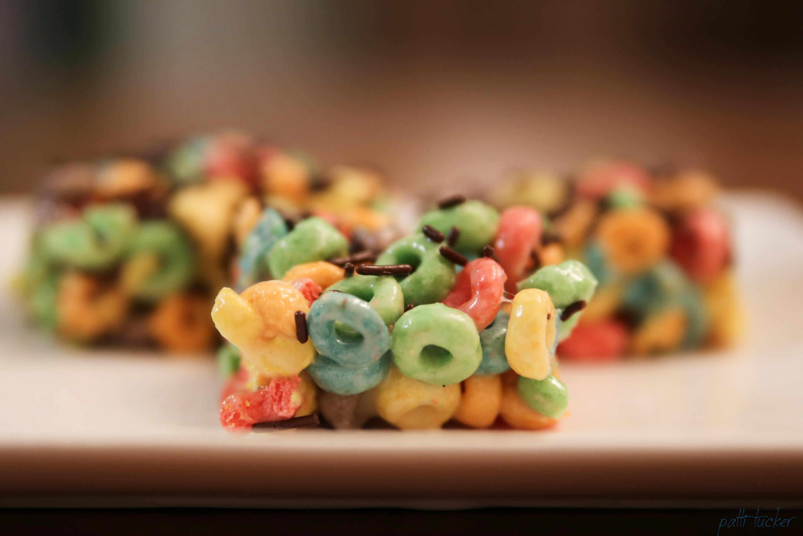 When You Need a Sweet Snack - Froot Loops Treats