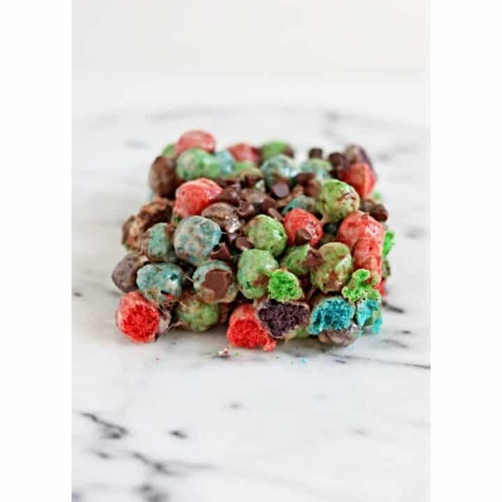 oops all berries marshmallow treat