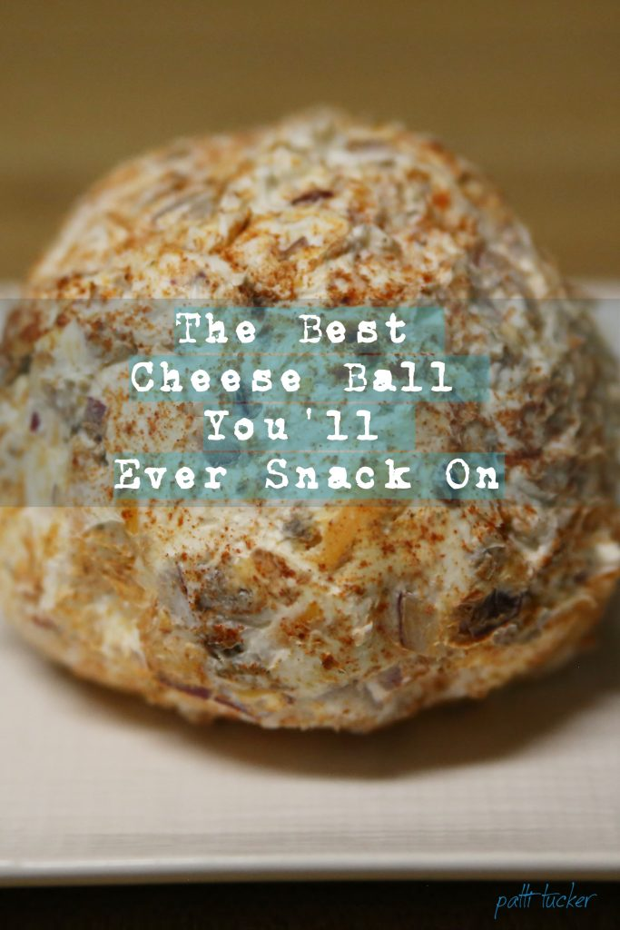 The Best Cheese Ball You'll Ever Snack On