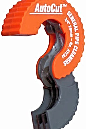 Autocut copper tubing cutting tool