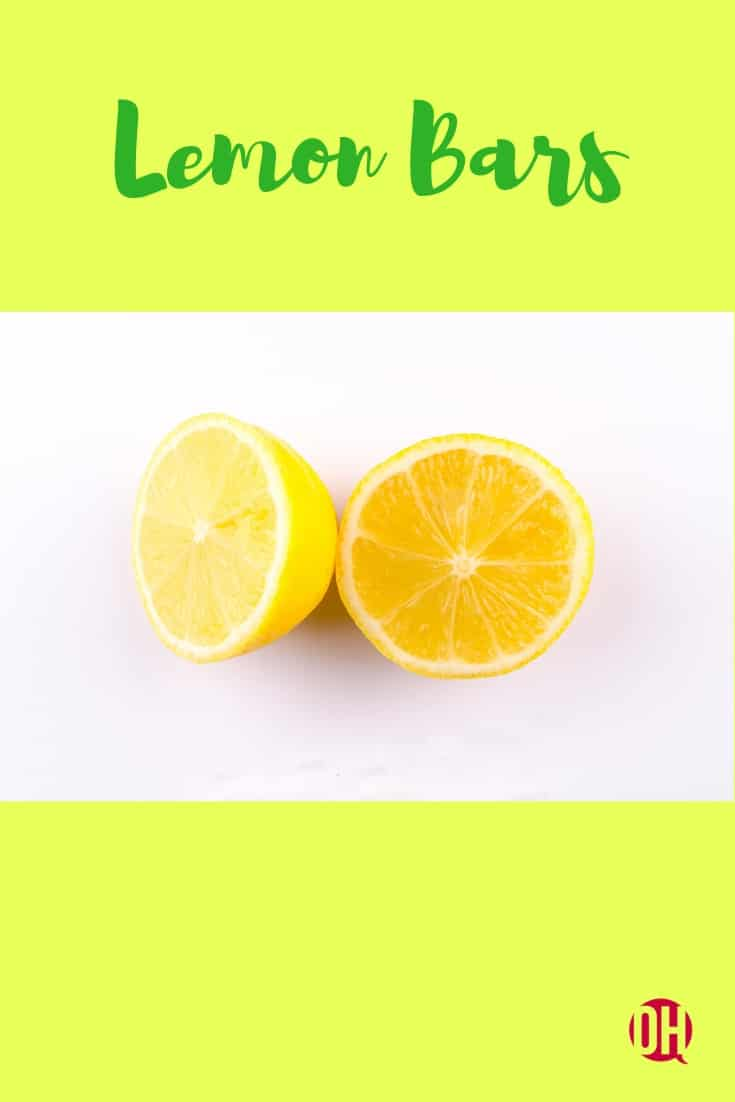 graphic with a sliced lemon and the words
