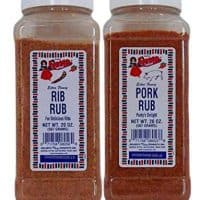 Bolner's Fiesta Rib Rub and Pork Rub 2 Flavor Bundle, 20 Oz. Ea.
