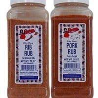 Bolner's Fiesta Rib Rub and Pork Rub 2 Flavor Bundle, 20 Oz. Ea.